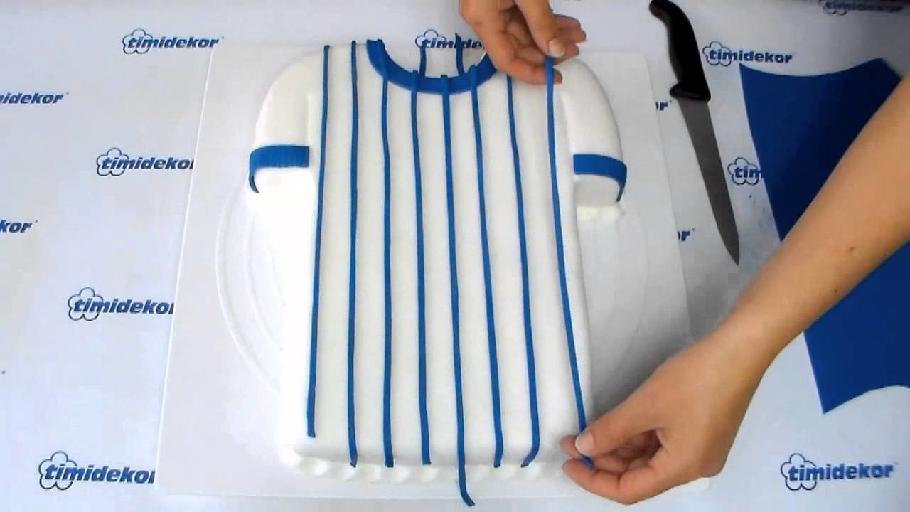 Baseball Shirt Cake