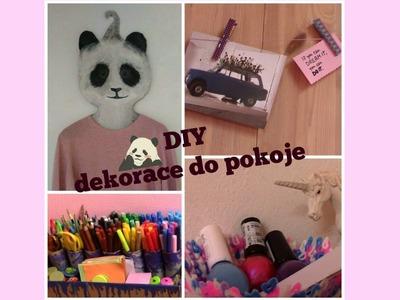 DIY dekorace do pokoje