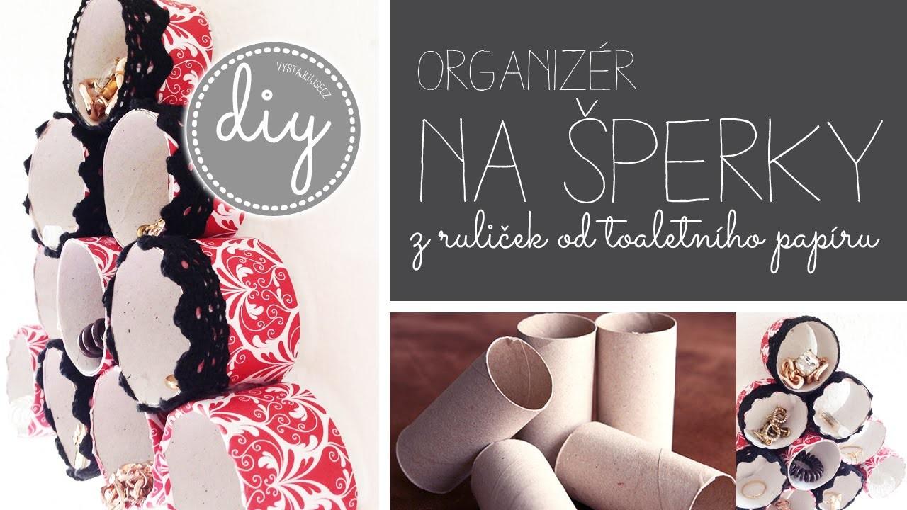 DIY I Organizér na šperky (co vyrobit z ruliček od toaletního papíru) I laTerez Atelier
