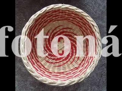 EKniha - návody na pletení košíků z pedigu