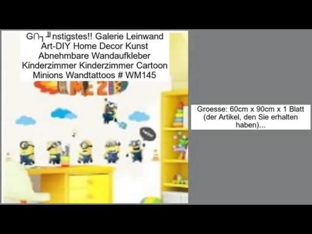 Galerie Leinwand Art-DIY Home Decor Kunst Abnehmbare Wandaufkleber Kinderzimmer K