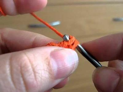 Háčkování - začátek háčkované čepičky