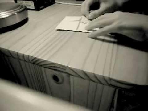 How to make a paper steamer (Jak vyrobit papírový parník)