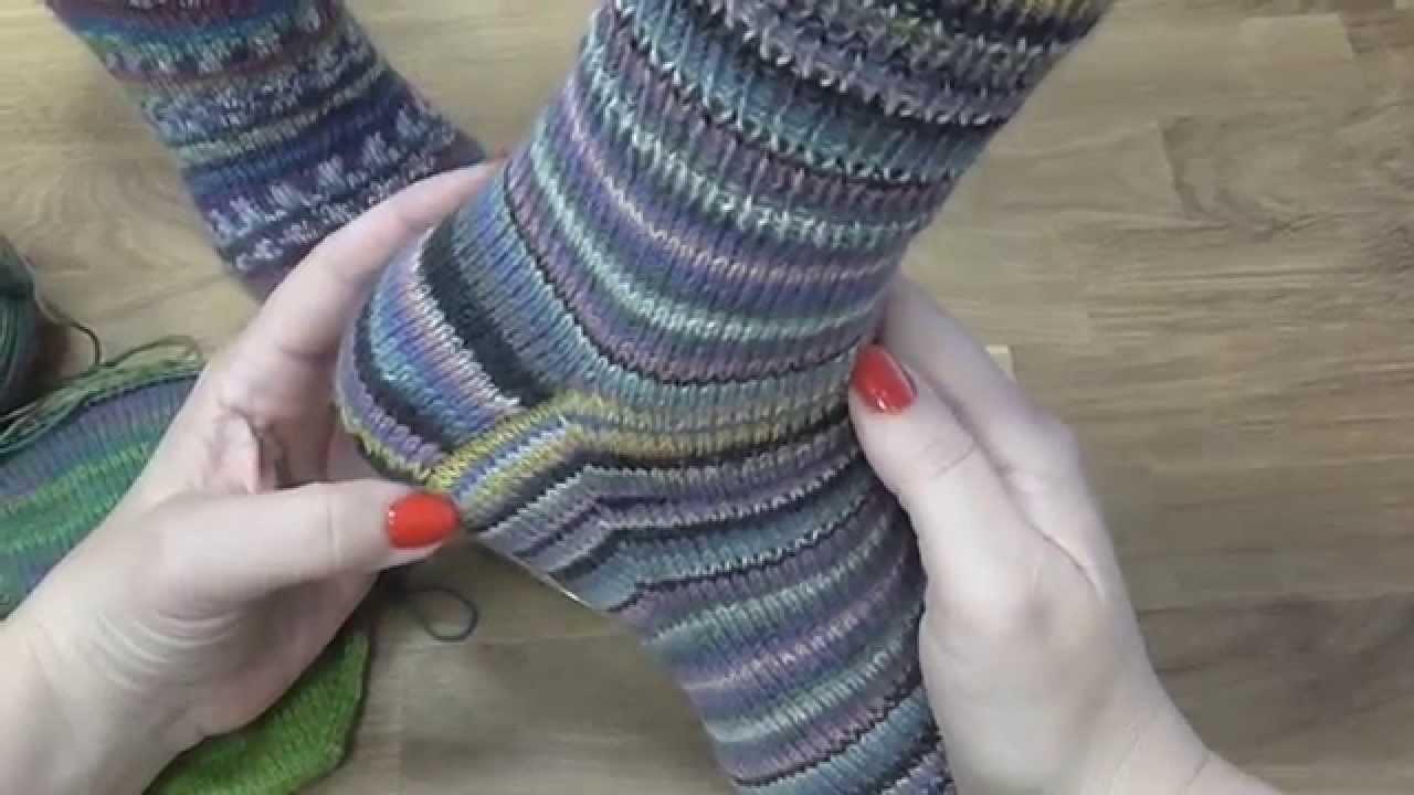 Kurz pletení ponožek - klínky (5. díl) Knitting socks