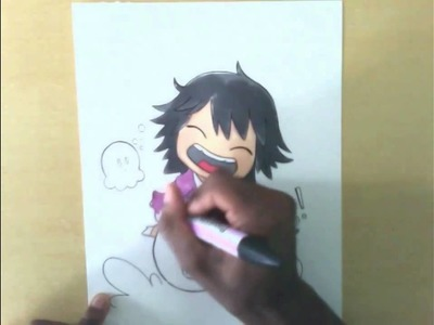 Letraset Pro Markers - Chibi Shino Takahashi