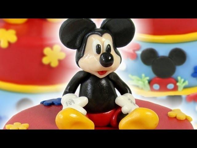 Mickey Cake Topper (Figurka na dort Mickey)