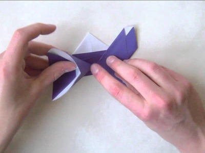Origami Motýl návod