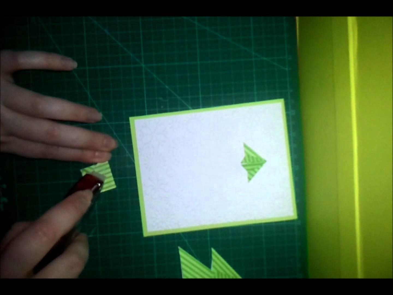 Tuto sapin origami