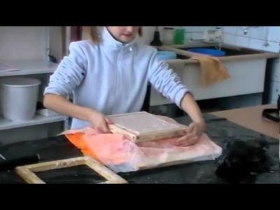 Tvorba ručního papíru