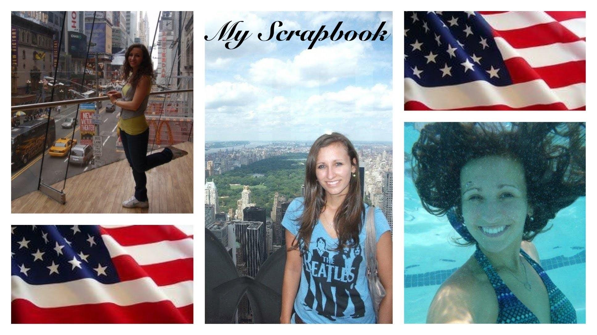 Život v USA - Můj Scrapbook část I.