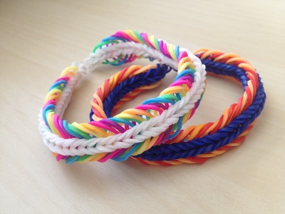 IMPORTER - NÁVOD NA 5 LINKED FISHTAIL Z LOOM BANDS