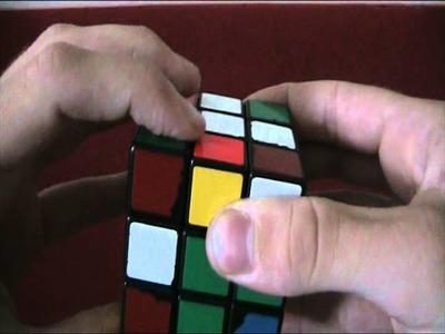 Jak složit Rubikovu kostku - 1. krok
