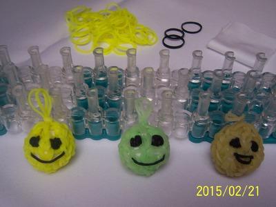3D Smajlík z gumiček , návod česky