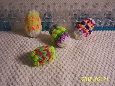 3D Velikonoční vajíčko z gumiček