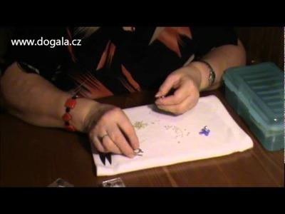 DoGala.cz - Návod na výrobu šitého náramku