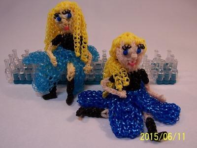 3D Elsa z Frozen z  gumiček
