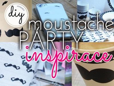 Moustache Party Inspiration DIY | #movember I laTerez Atelier