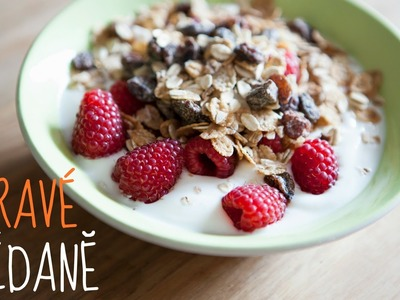 Jak na jednoduché a zdravé snídaně  | ovesná kaše