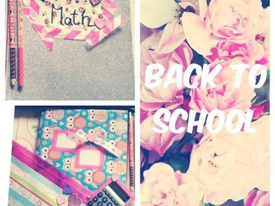 Back to school - DIY School Supplies (Zpátky do školy)