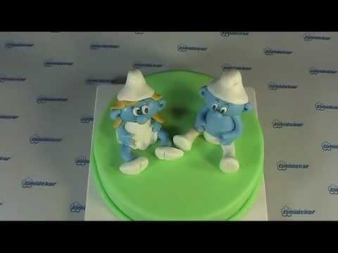 Smurf Cake (Šmoulové - figurky na dort)
