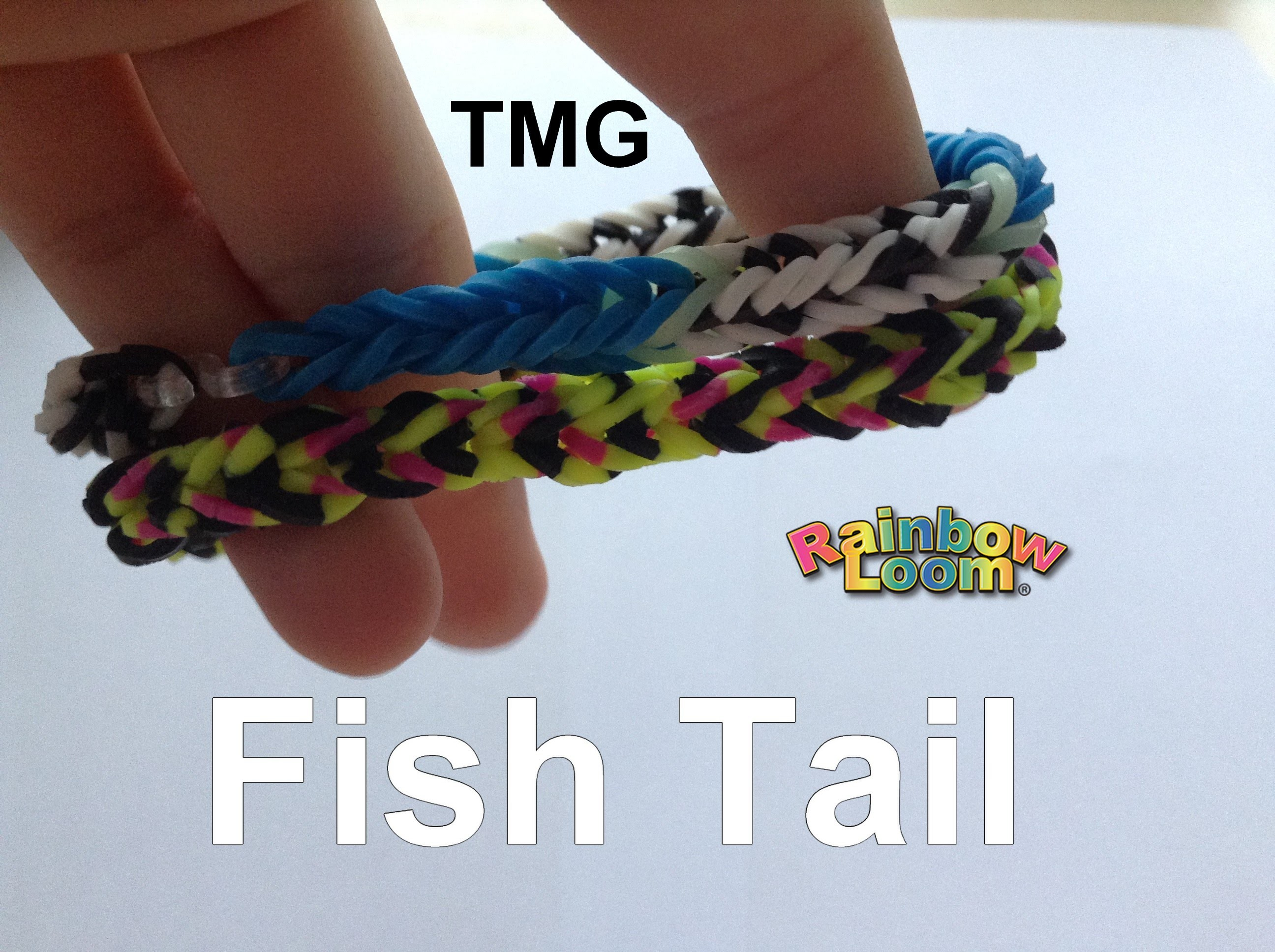 Rainbow Loom - FishTail - Ája