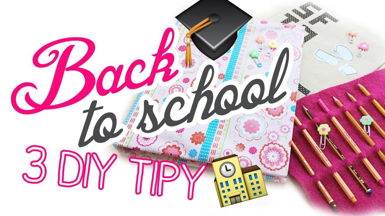 3 DIY Back to school.Zpátky do školy | #laterezatelier