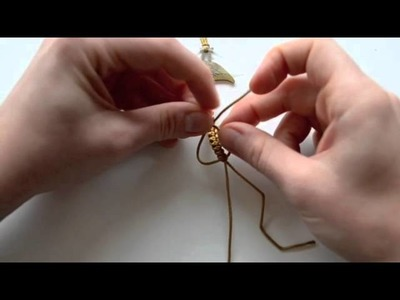 Návod na výrobu Shamballa náramku