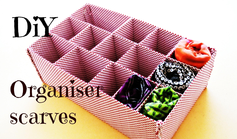 Organizér na šátky (Organiser scarves) DiY