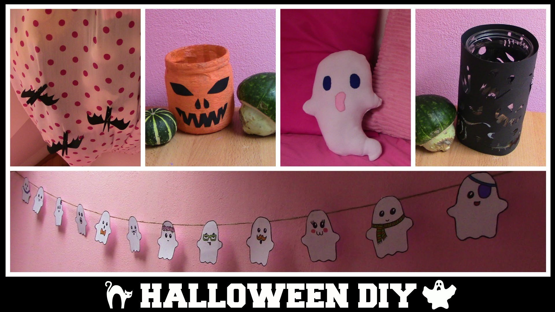 Halloweenské DIY dekorace. Halloween 2015