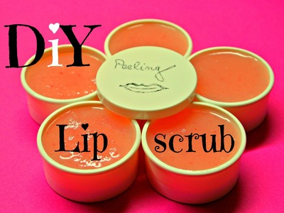 Peeling na rty (diy lip scrub)