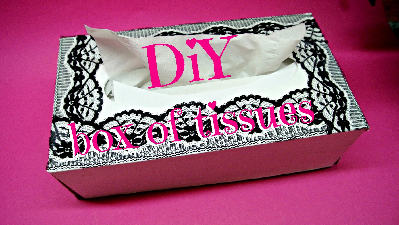 Krabička na kapesníky (Box of tissues) DIY