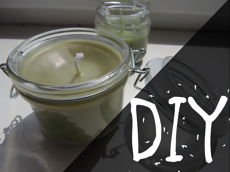 DIY | Velké svíčky