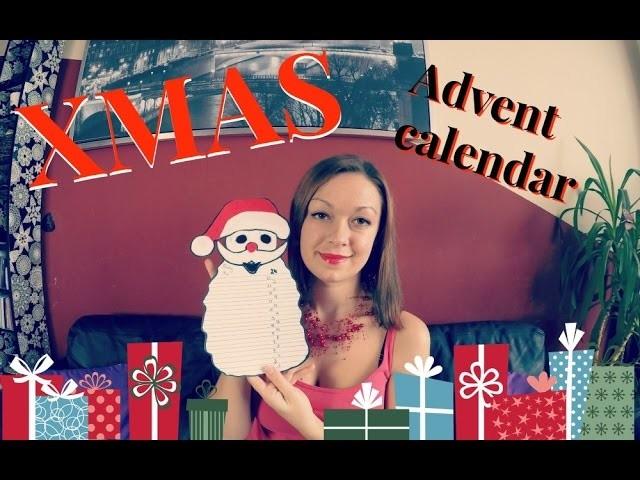 Adventní kalendář. Christmas DiY - Advent Calendar