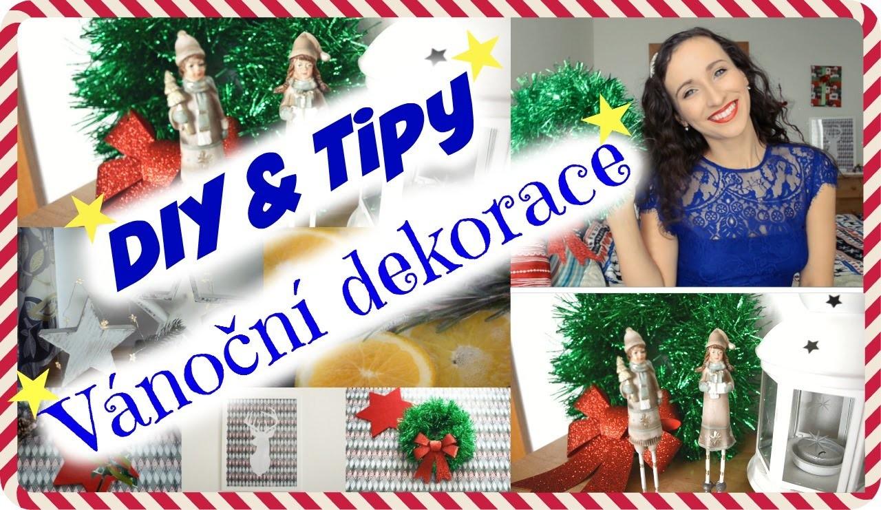 ☃ DIY & Tipy na Vánoční Dekorace 2015 ☃ Pavlinna17