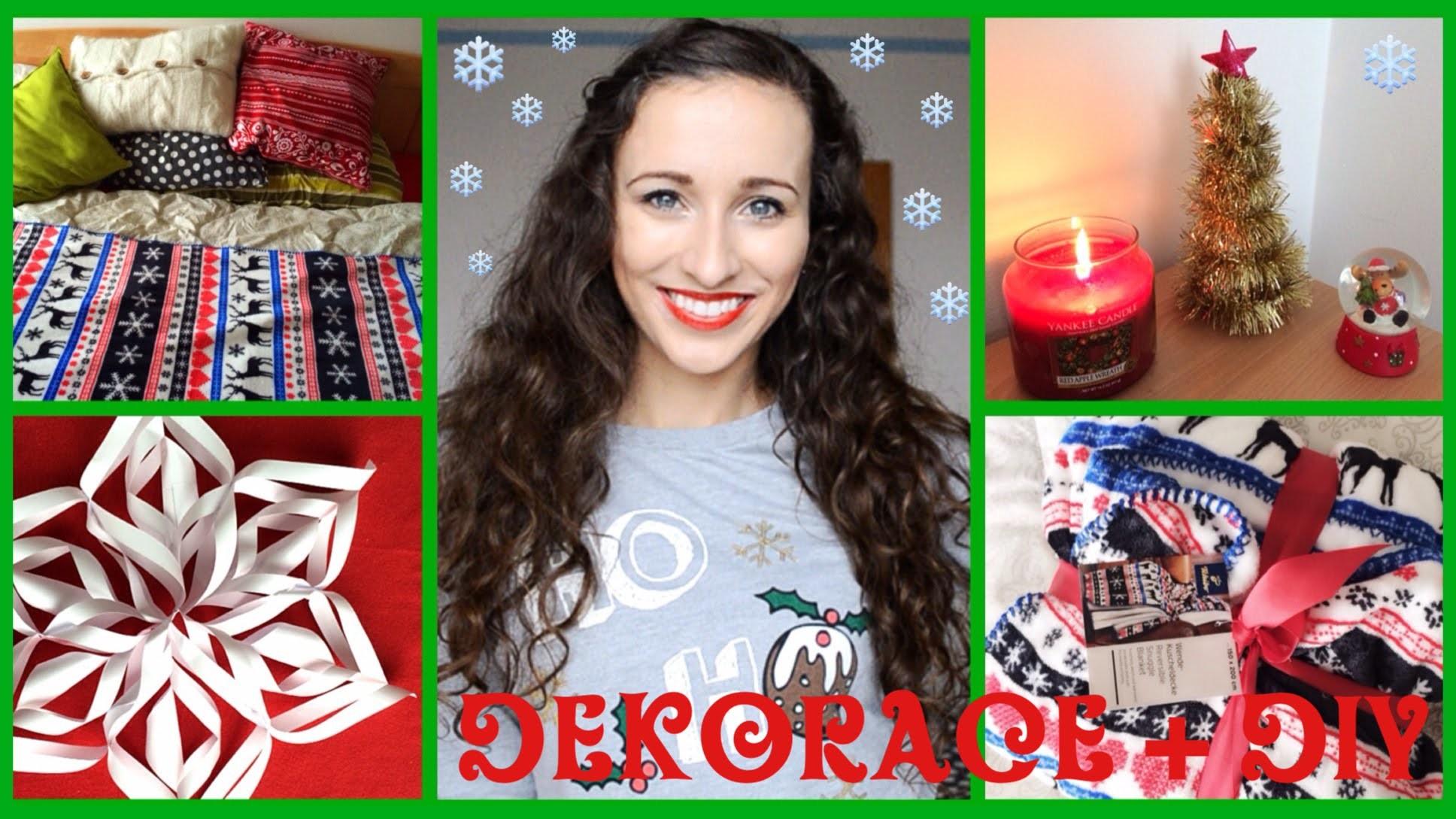 Vánoční dekorace + DIY ❄ | Pavlinna17