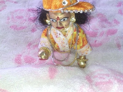 How to make night dress of Bal Gopal. Ladoo Gopal. Thakurji. Krishna. Kanha ji