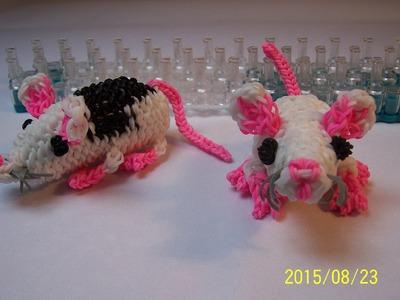 3D Potkan i Myš z gumiček