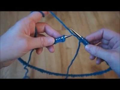 Trik na spojení ok při pletení do kruhu