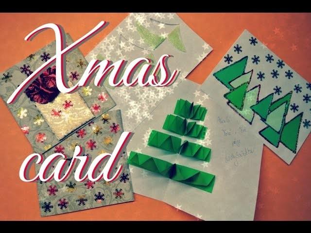 Vánoční přáníčka 2015. Vánoční přáníčka z papíru. DIY