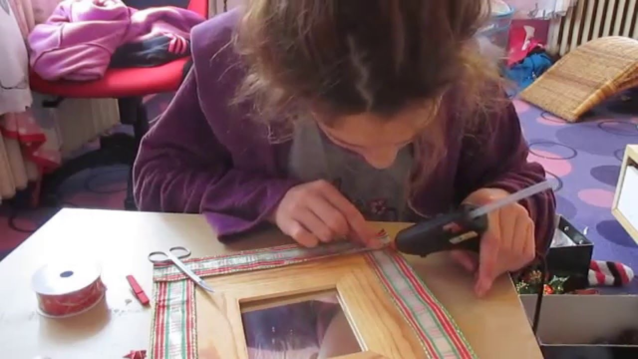 Vánoční DIY , (ozdoba zrcátka)