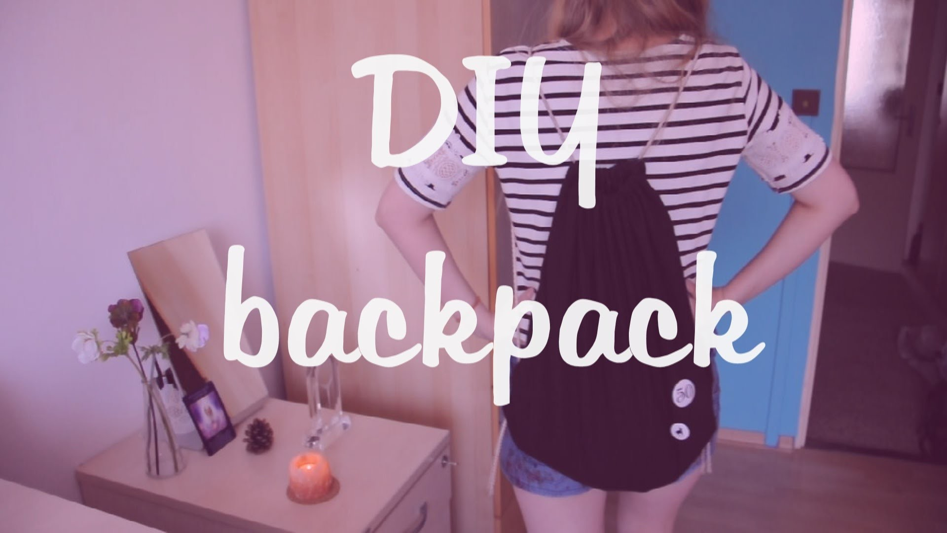 DIY Backpack: Vak.pytel na záda.
