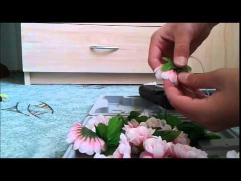 DIY- květinový věnec na hlavu