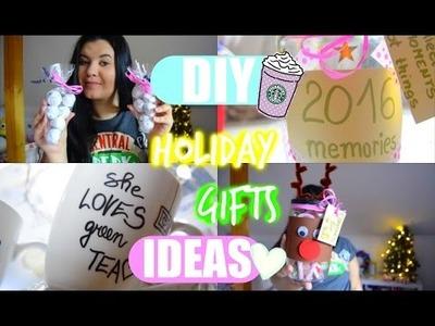 ♡DIY Tipy na Vánoční dárky + VELKÁ VÁNOČNÍ GIVEAWAY (ZAVŘENO)♡. DIY Holiday Gift Ideas ♡
