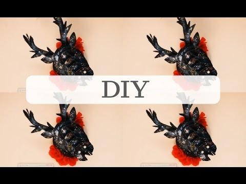 DIY: Galaxy deer = EVZUU