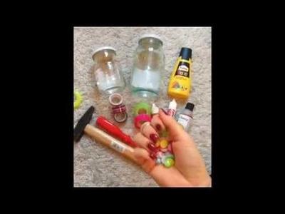 DIY Zavarovaci sklenicka na piti (Mason Jar Cup )