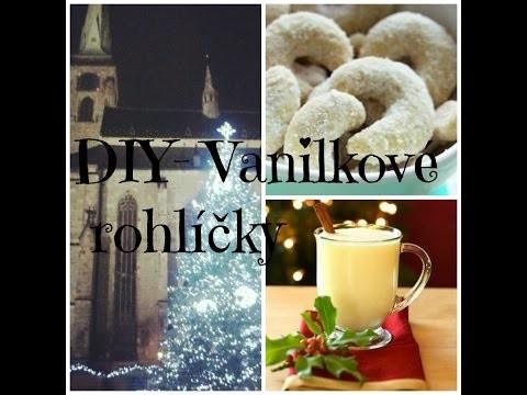 DIY- Vanilkové rohlíčky| Vánoce 2014| 1.video