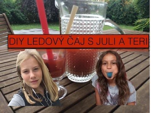DIY Ledový čaj ft.Live_ like_ Juli
