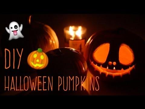 DIY Halloween Pumpkins - NotSoFunnyAny