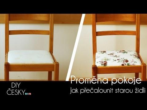 Jak přečalounit starou židli | DIY