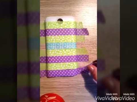 DIY - kryt na telefon